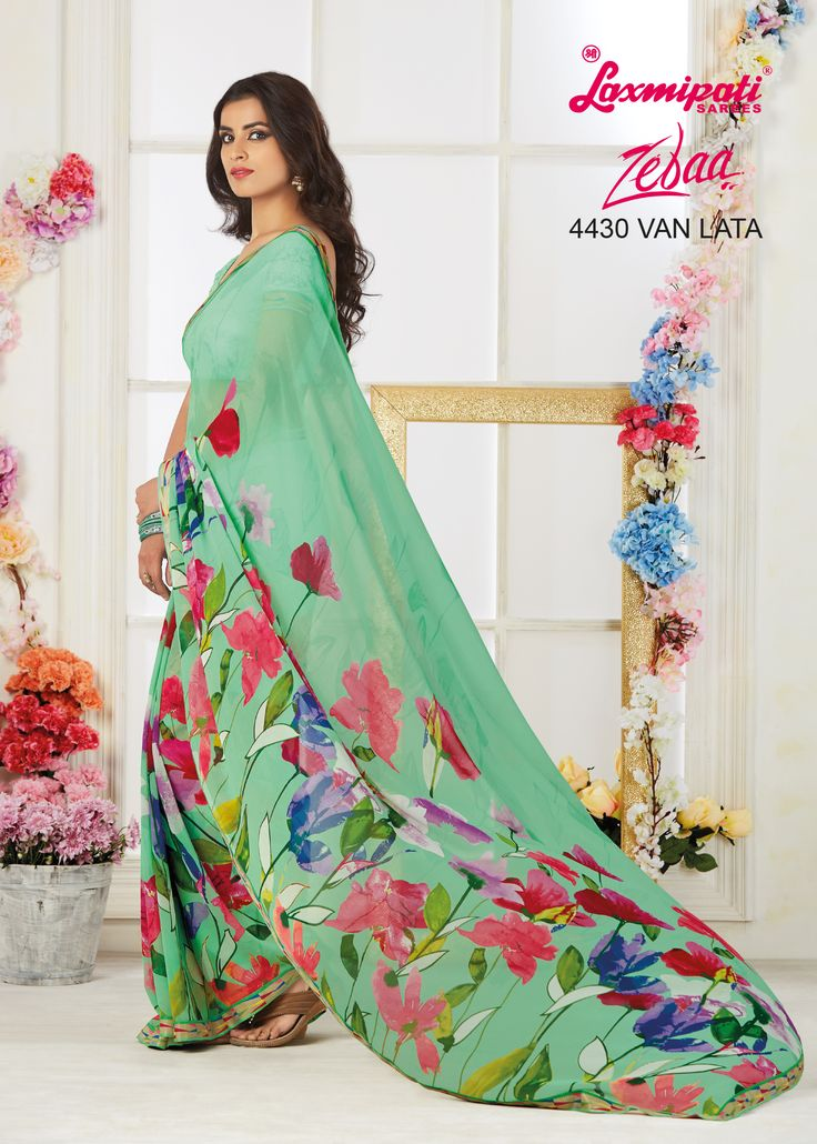 Brighten up your look with this Blue colored Georgette Saree carrying Blue colored Georgette Blouse that takes you through the season in style. Impress everyone with your amazing traditional look. 100% genuine products guaranteed. Limited Stock! #Catalogue #Zeeba #Design_Number: 4430 #Price - Rs. 1742.00  #Bridal #ReadyToWear #Wedding #Apparel #Art #Autumn #Black #Border #MakeInIndia #CasualSarees #Clothing #ColoursOfIndia#Couture #