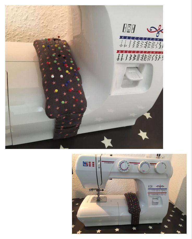 Stecknadelkissen für die Nähmaschine