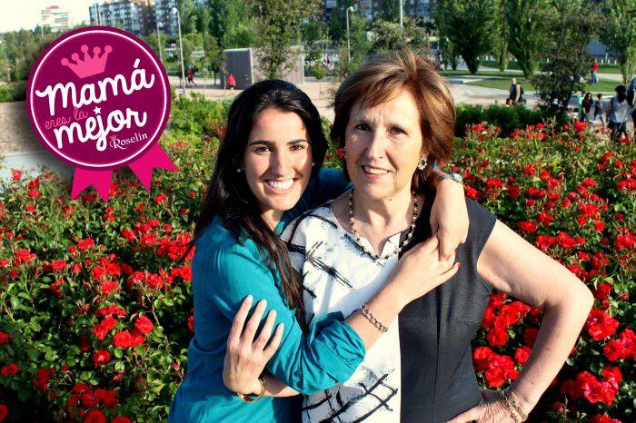 Por cariñosas y divertidas, Nuria y su madre se podrán gastar 50 euros en una tienda Roselin... ¡Felicidades!
