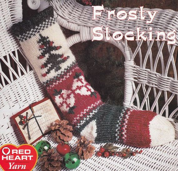 Knitting Pattern Christmas Stocking