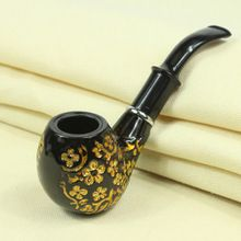 Classic Chimney Filter Long Smoking Pipes Tobacco Pipe Cigar Gifts Carving Resin Pipe Narguile Weed Grinder Smoke Mouthpiece(China (Mainland))