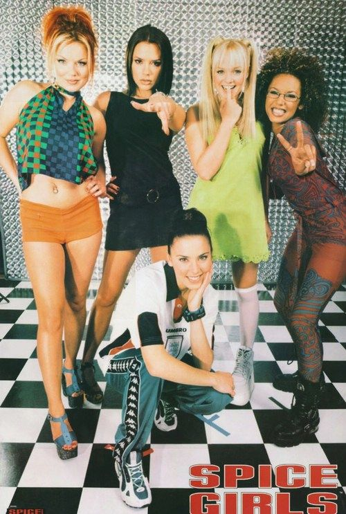 Spice Girls...i had this as a big poster in my room back in the day!
