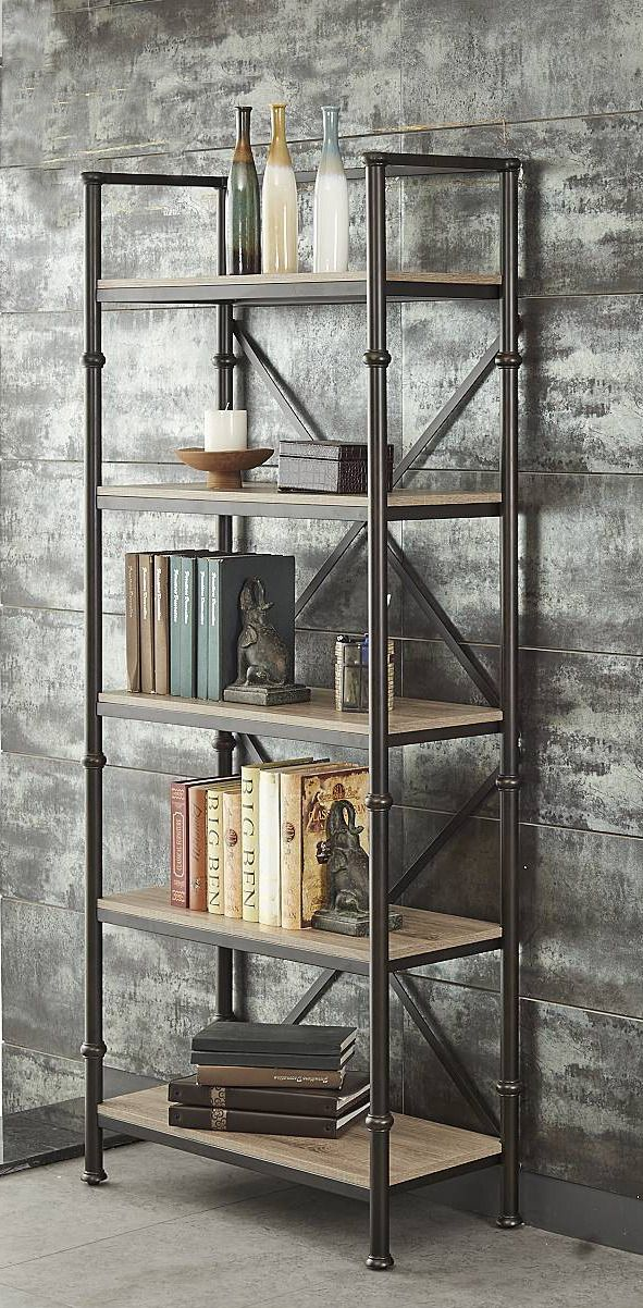 Durham Bookcase In Oak Bronze Dining Room Table Sets Bedroom Furniture Curio Cabinets And Solid Wood Model Home Gallery S