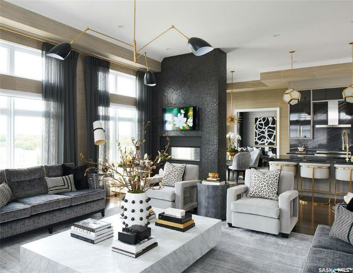 Glamorous Chic And Sophisticated Interiors Decoholic Home