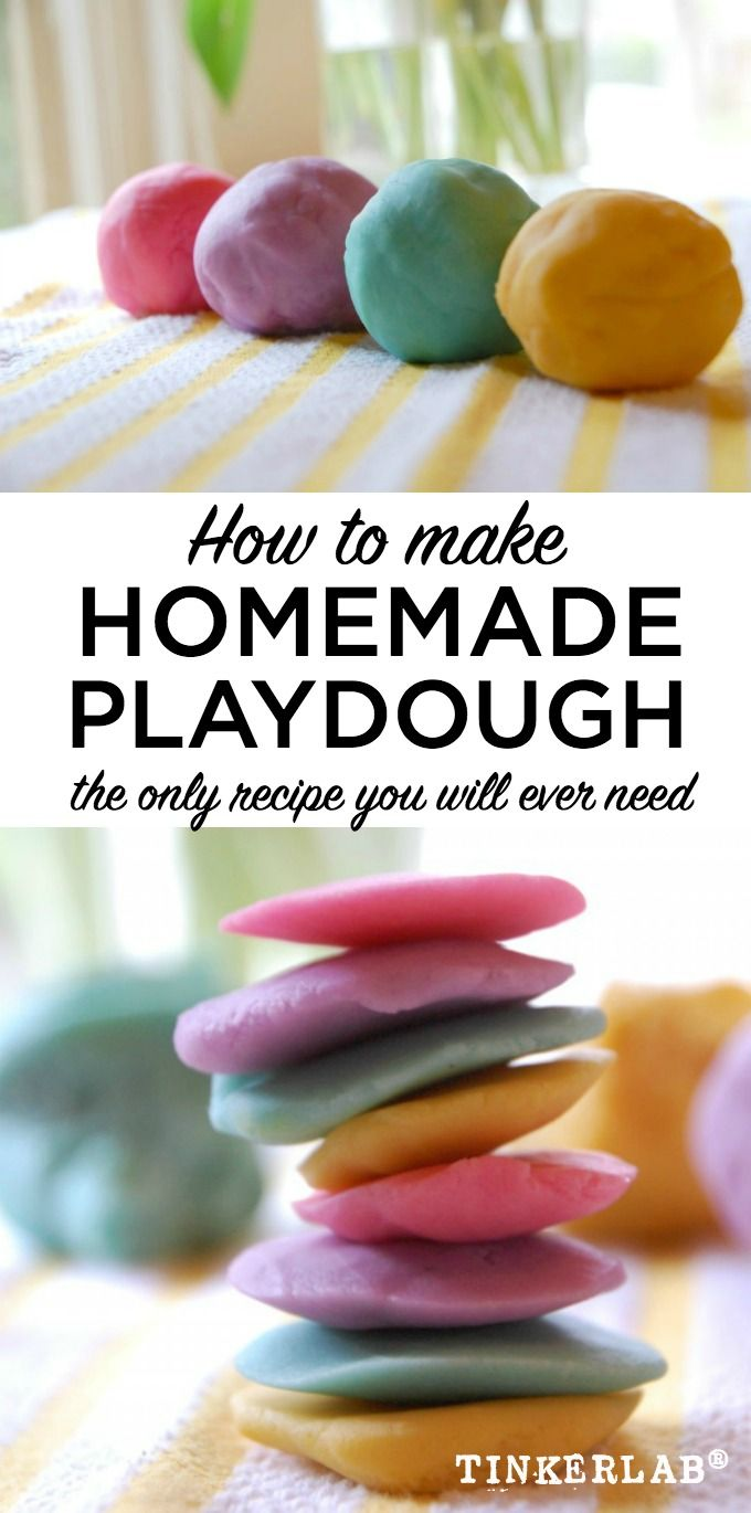 This is the BEST playdough recipe, beloved by preschool teachers and parents. This easy recipe will show you how to make play dough that lasts for ages.
