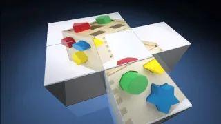 Melissa & Doug Toys: Shape Sorting Cube - YouTube