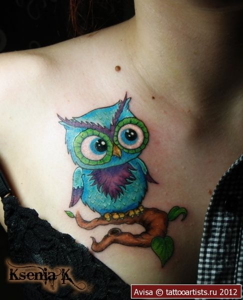 ~Owl~ weird placement though but still super cute!