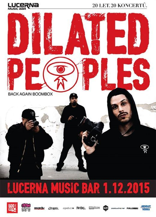 Dilated Peoples, Lucerna Music Bar, Praha