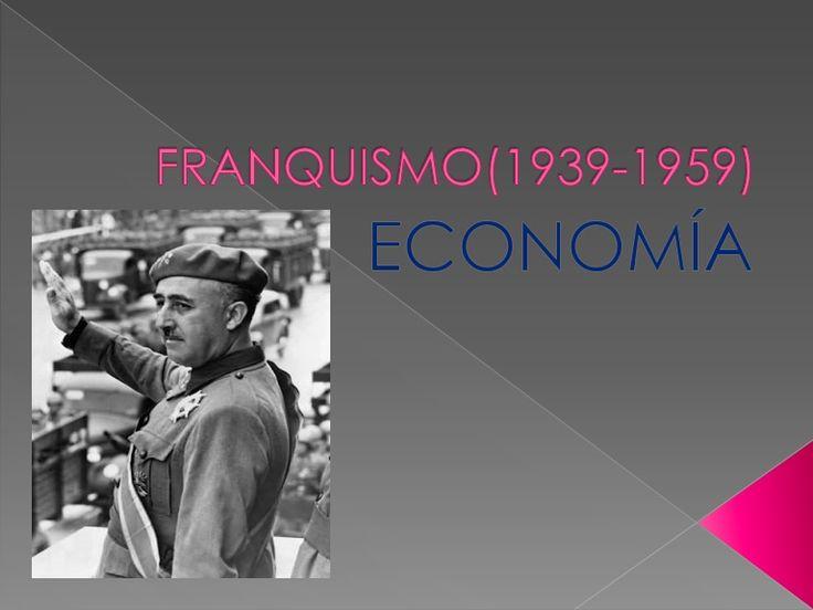 Evolución de la economía durante la dictadura de Franco.