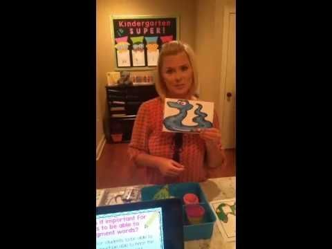 A how to video for PHONEMIC AWARENESS. Watch Deanna Jump as she demonstrates how she teaches her kindergarten students.