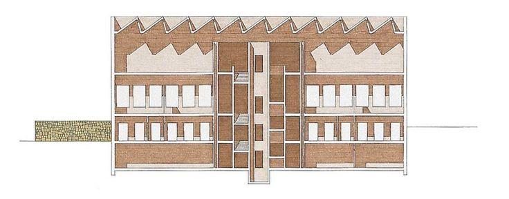 Giorgio Grassi | Ampliación del Museo Kulturgeschichtliches con la Felix Nussbaum Haus | Osnabrück, Alemania | 1996