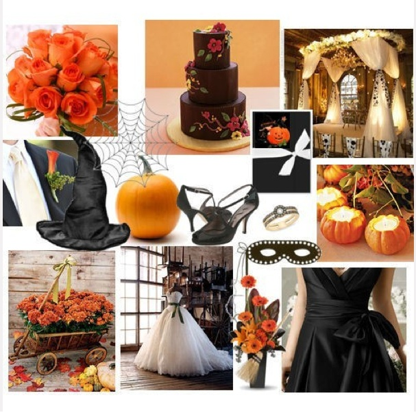 57 best images about fall   halloween wedding on pinterest