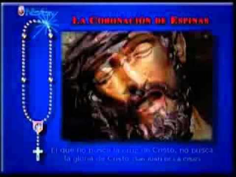 Recemos el Rosario Martes y Viernes Misterios Dolorosos  completo - YouTube