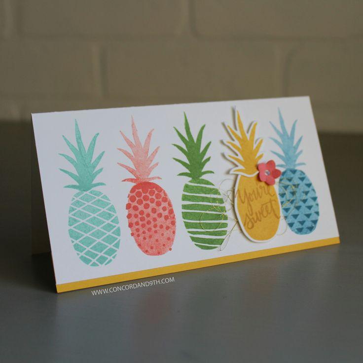 Pop Art Pineapple