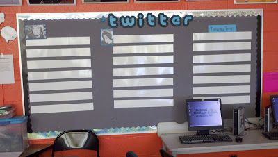 One of the struggles facing teachers today is getting students to buy in.  So, when I started doing Romeo and Juliet with my class I thought it'd be a great opportunity to try my own version of a Twitter bulletin board.