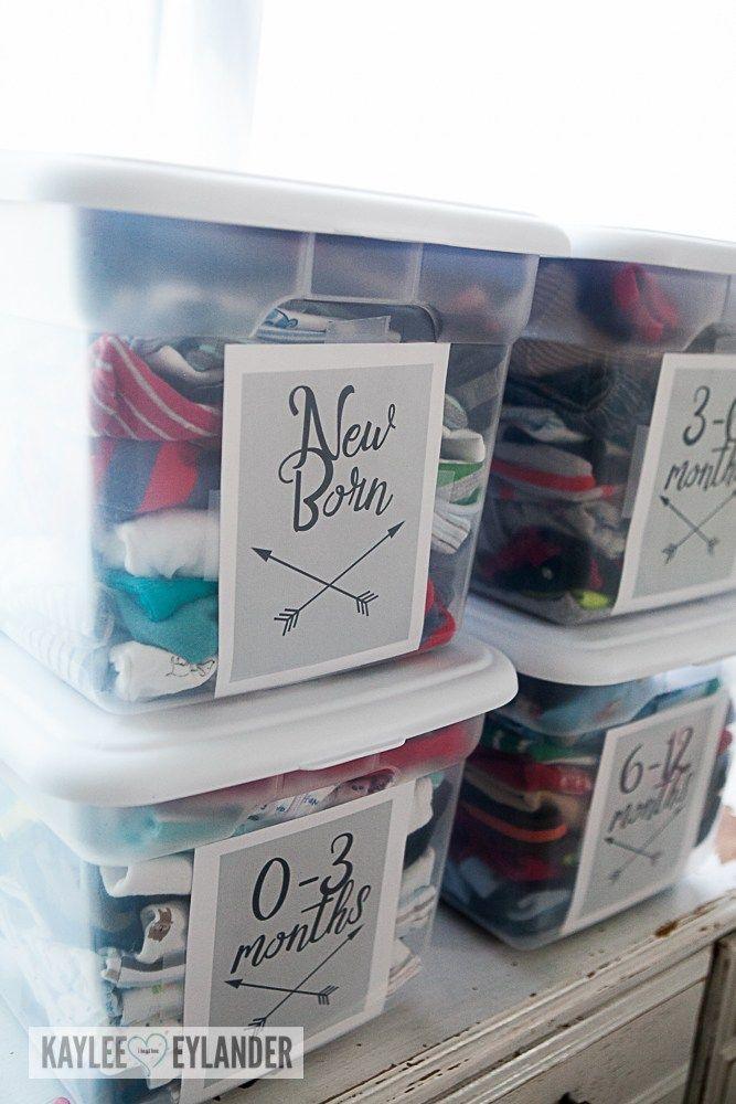 Organisation du vêtement bébé