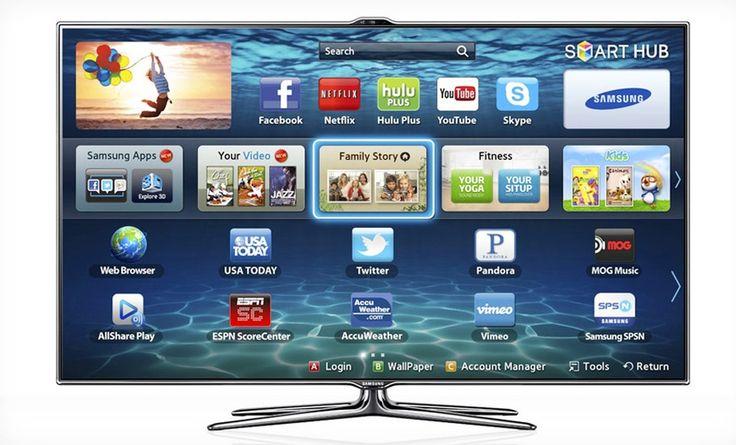 Samsung 55Inch 3D 1080p 240 Hz Smart TV (UN55ES7500