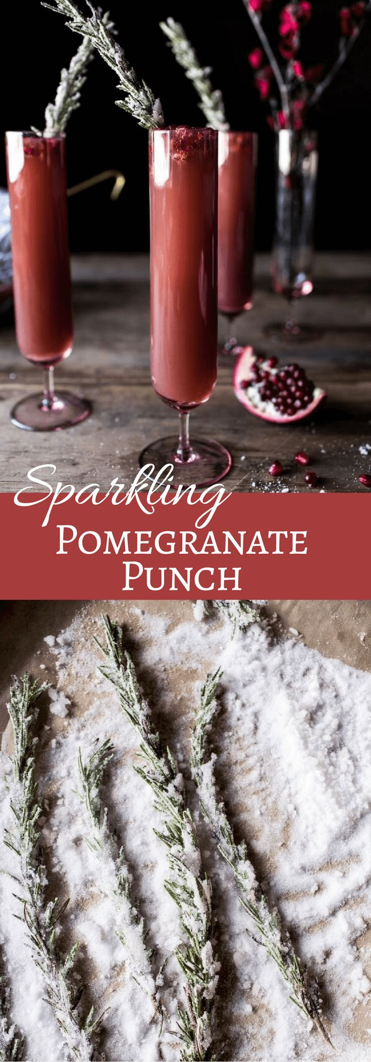 Sparkling Pomegranate Punch   halfbakedharvest.com @hbharvest