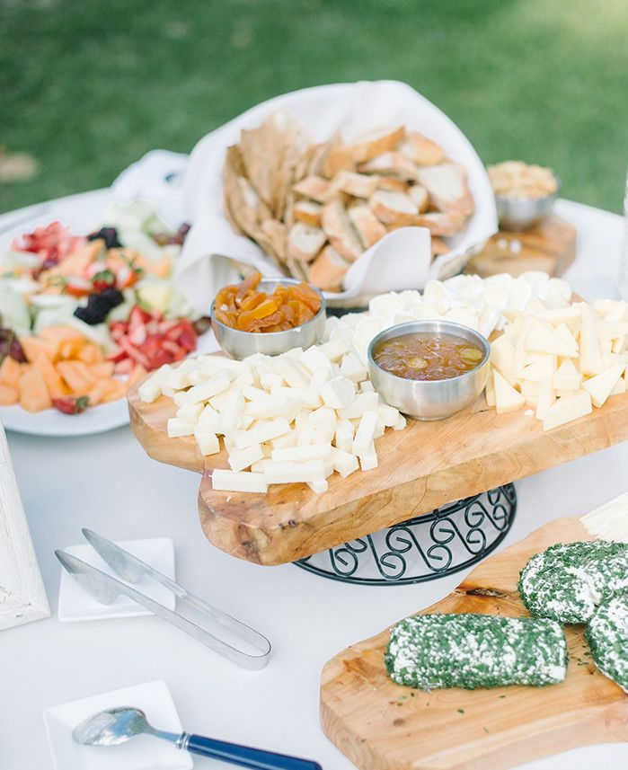 Artisan cheese display by PPHG | Lowndes Grove Plantation | Photo by Aaron and Jillian