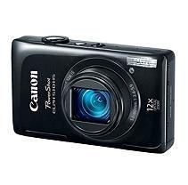 Canon ELPH 510 12.1MP Digital Camera - Black