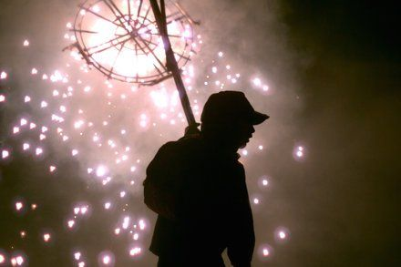 Review: In Brimstone & Glory Passions Blaze at a Fireworks Festival
