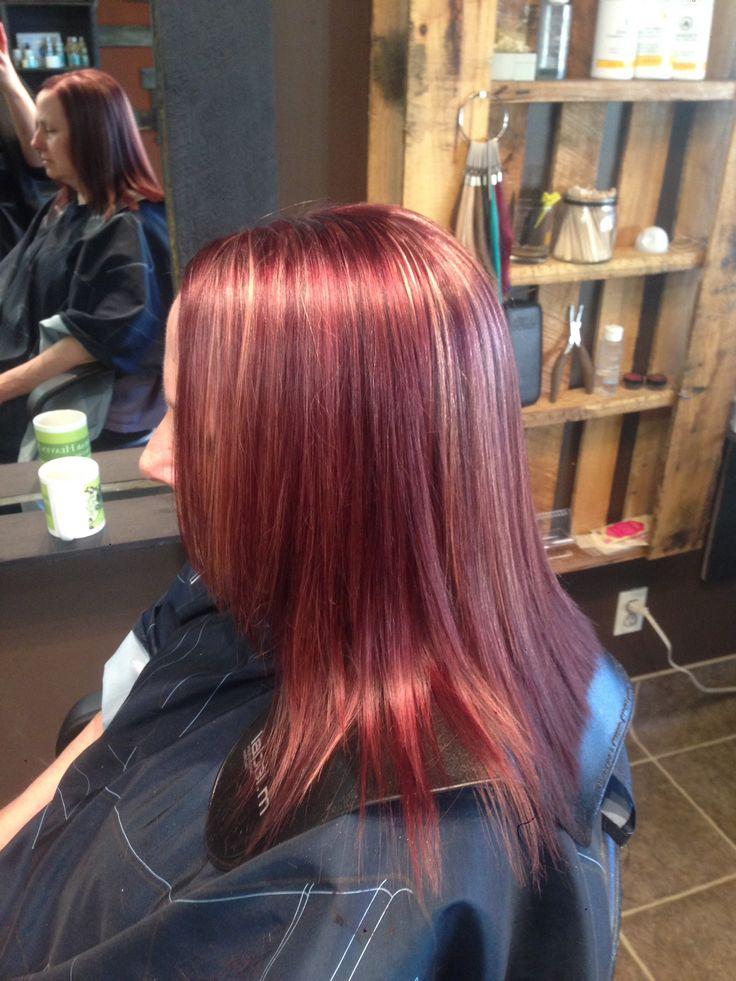 Gorgeous Mult-itonal violet with blonde highlights :) #kevinmurphy #colorme #violet #loveit #kevinmurphybabes
