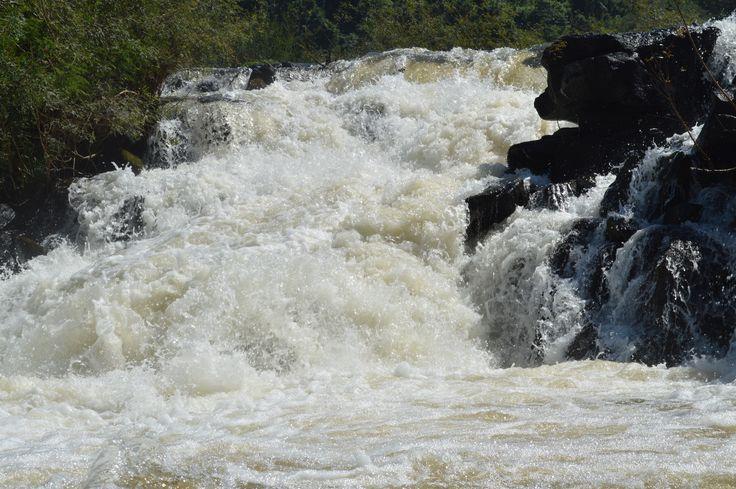 Los saltos de Moconá en el río Uruguay