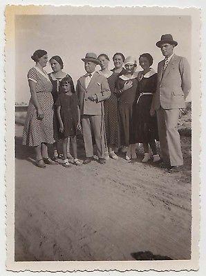 Foto anni 20 Viserba Rimini famiglia al mare sulla spiaggia_Romagna_48