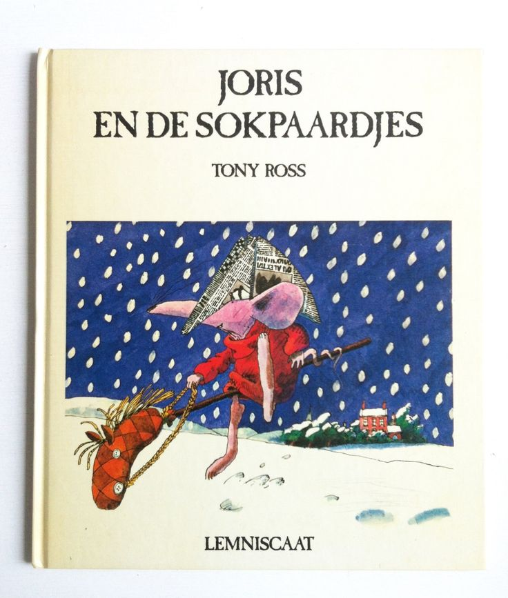 Joris en de stokpaardjes (Hugo and Oddsock), a Dutch vintage children book by Tony Ross door lalinia op Etsy