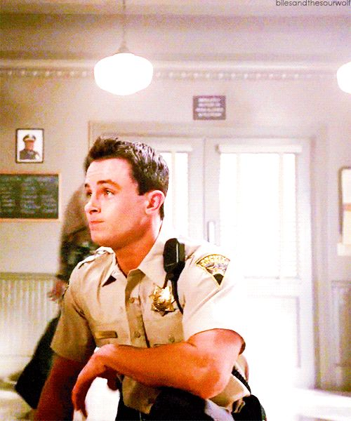 See I think this Deputy has a longer back story, because remember in 3B where he said he felt drawn here? That was referring to  in 3A when they gave power back to the Nemiton and Deaton said it would make Beacon Hills a kind of Beacon again, and that it would draw ''them'' here..... Well here he is.