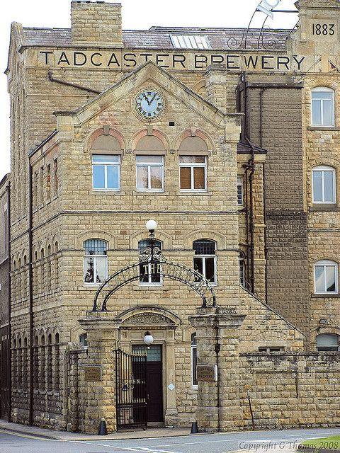John Smith's Tadcaster Brewery, Yorkshire, England