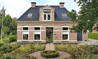 Theeschenkerij The Wisple is gevestigd in een oude boerderij in het Friese plaatsje Terwispel