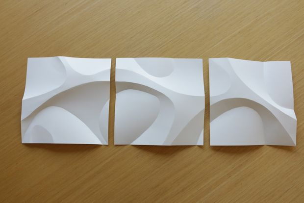Picture of Curved Paper Folding                                                                                                                                                                                 More