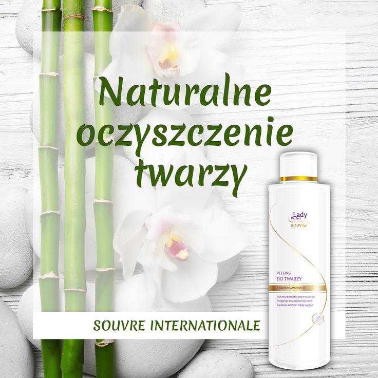 Jak pomóc skórze zaabsorbować naturalne składniki aktywne kosmetyków Souvre Internationale? Zastosuj peeling, który przed aplikacją kolagenu delikatnie złuszczy naskórek.
