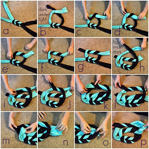 Put Up Your Dukes: double braided scarf tutorial