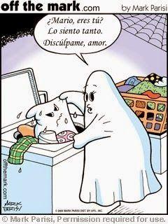 Spanish Halloween jokes: ¿Mario eres tú? #Halloween Spanish jokes for kids