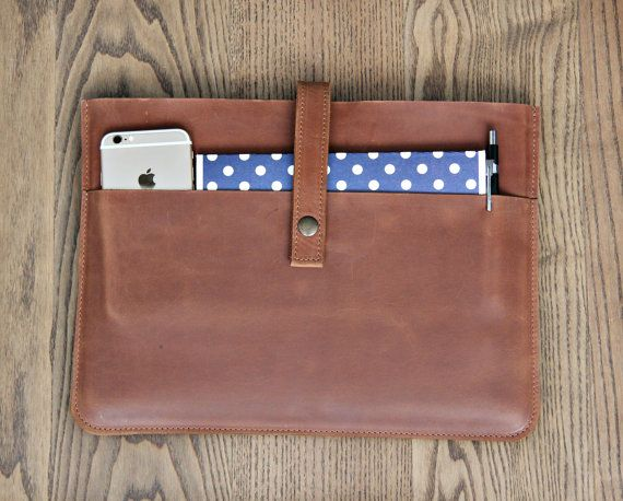 742ba71f8e2b Mac Book sleeve leather laptop sleeve notebook sleeve by InCarne ...