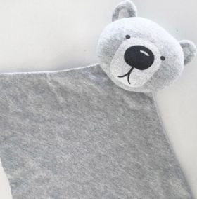 Bear Comforter #baby #babycomforter #comforter #bear #snuggly