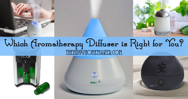 Which Aromatherapy Diffuser is Right for You - thehippyhomemaker.com