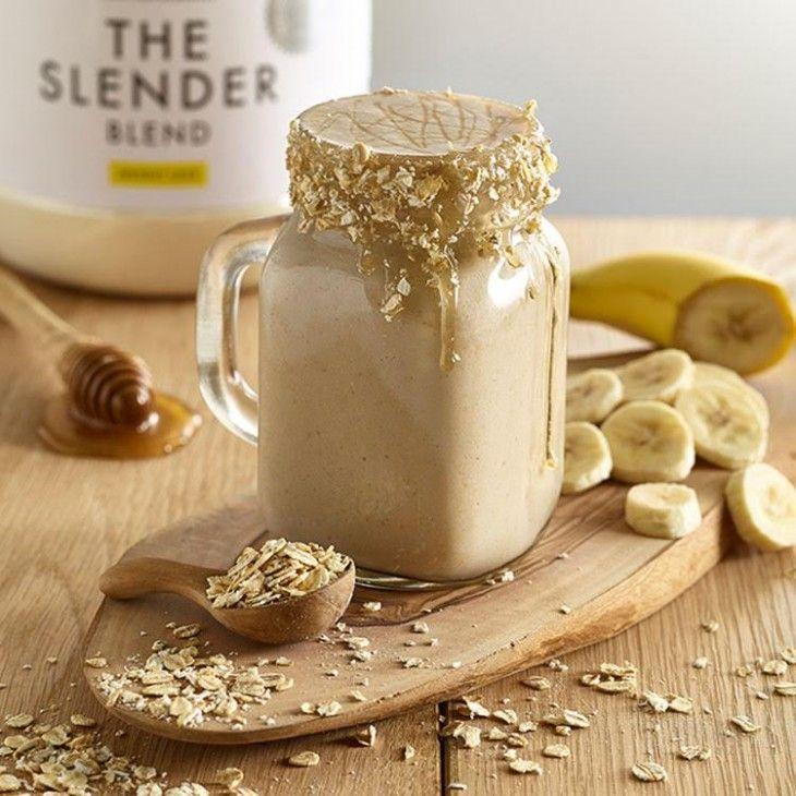 Slender Banana And Oat Shake