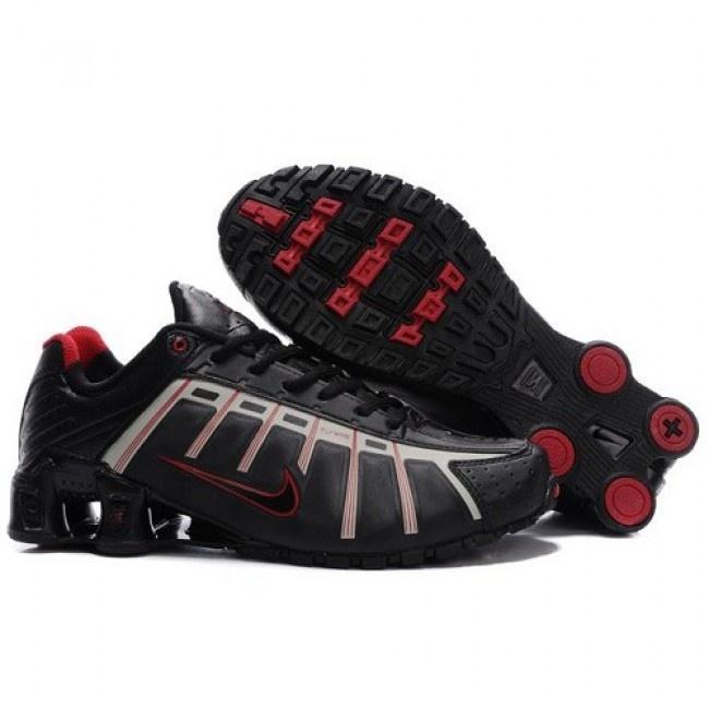Christmas gift Top Value Nike Shox O Leven Black Green Sports Shoes