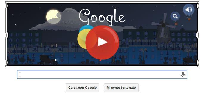 Oggi Google dedica il suo doodle al compositore francese per celebrare i 151 anni della sua nascita http://raffaeleconte.com/blog/i-migliori-doodle-di-google-italia/