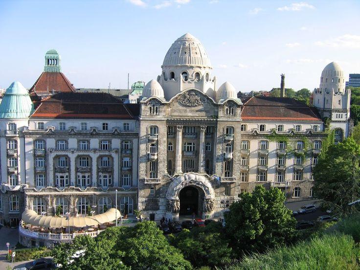 Budapest-Gellért hotel
