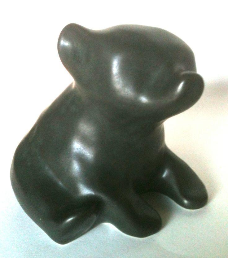 Vintage Arabia Finland Rl Richard Lindh Pottery Bear Ebay