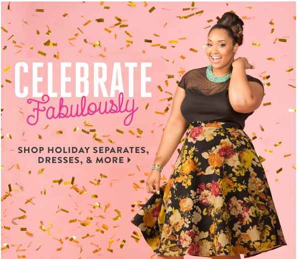 ModCloth | 18 Affordable Plus-Size Brands You Need To Know About >> You also need to know about Deb Shops!