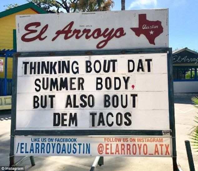 Mexican Restaurant Earns Fame For Its Pun Filled Signs Happy Quotes Funny Funny Signs Sarcastic Humor