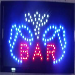 """[ $28 OFF ] Factory Direct Sale 10*19"""" Bar Sign Semi-Outdoor Ultra Bright Led Beer Pub Store Open Signs"""