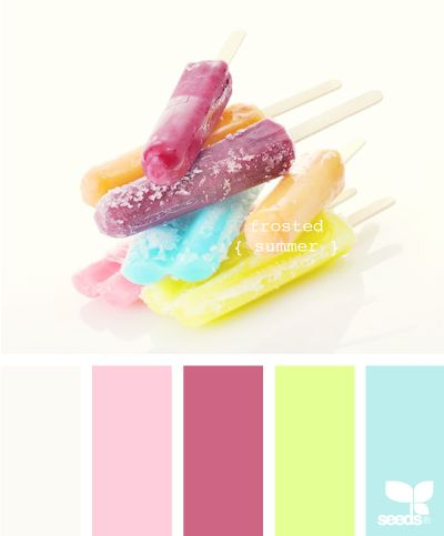 frosted summer- cute kids palette
