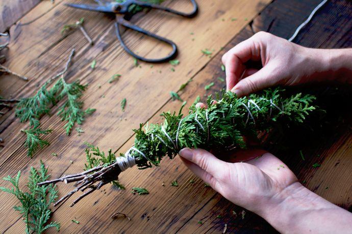 DIY Cedar Smudge Sticks   Pure Green Magazine