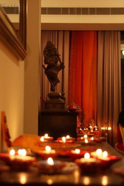 Patricia Torres shares her diwali decor ideas.